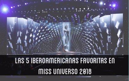 Las 5 iberoamericanas favoritas en Miss Universo 2018