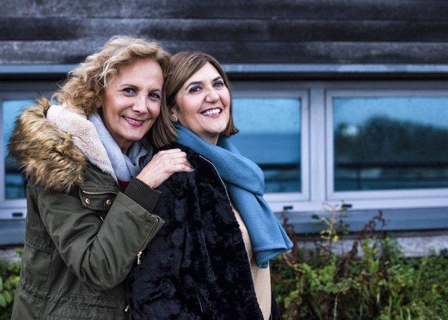 Elena Irureta y Ane Gabarain