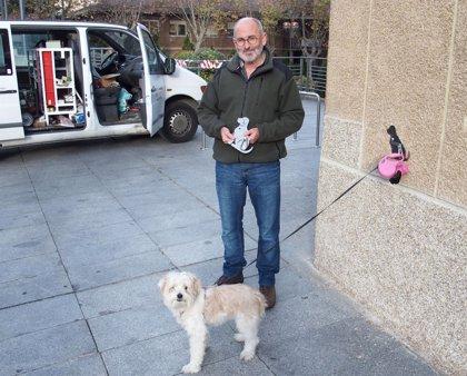 Ayuntamiento colocará un centenar de anclajes en edificios oficiales para que las mascotas esperen a sus dueños