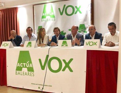 """Actúa-Vox Ibiza dice que con los resultados en Andalucía se ha evidenciado que no sólo existe un """"debate a cuatro"""""""