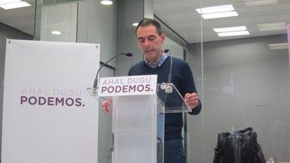 """Podemos Euskadi cree que la """"izquierda en general"""" debe """"reflexionar"""" tras las """"malas noticias"""" de Andalucía"""
