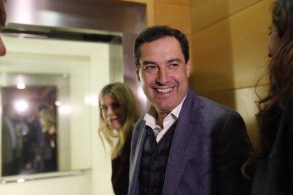 """Moreno llega al comité ejecutivo del PP señalando que no ve """"dificultades"""" para un acuerdo de gobierno con Cs"""