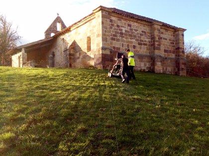 Se retoman los trabajos en el yacimiento de Santa María de Hito