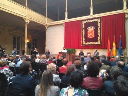 """Barkos asegura que """"se han sentado los pilares de una Navarra más plural, próspera y cohesionada"""""""