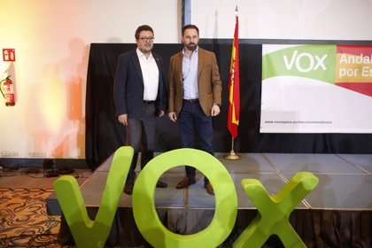 """VOX garantiza que """"nunca será obstáculo"""" para una mayoría alternativa """"a la corrupción socialista"""""""