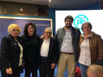 """El presidente de Murcia dice que al PP no le puede """"dar miedo"""" pactar con Vox tras ser votado """"democráticamente"""""""