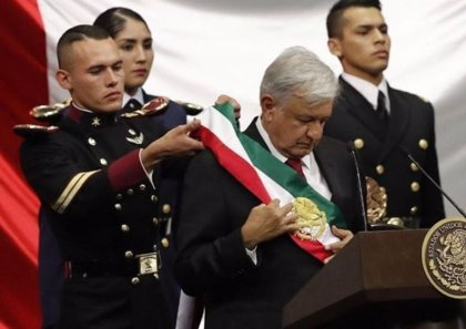 ¿Quién es Geovanni Lazárraga, el cadete que escoltó a AMLO durante su toma de posesión?
