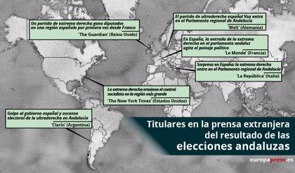 Así ve la prensa extranjera el resultado en las elecciones andaluzas