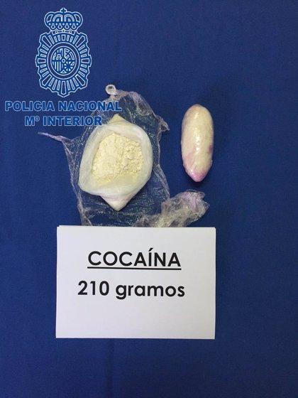 El juez envía a prisión a dos hombres detenidos en Badajoz con 200 gramos de cocaína
