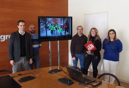 El Ayuntamiento edita un vídeo explicativo con la experiencia del 'Pedibús' para fomentar los itinerarios seguros en los