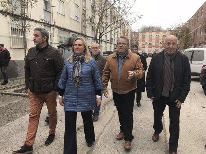 La Comunidad destinará 12 millones de euros a la rehabilitación de 440 viviendas del Barrio del Aeropuerto