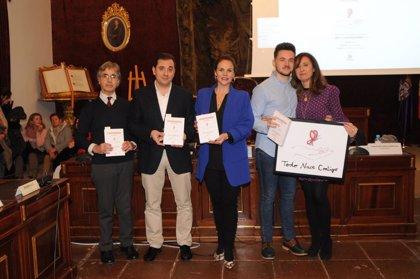 La Diputación de Córdoba acoge la presentación de 'Todo nace contigo', iniciativa de carácter solidario