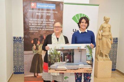 Las fundaciones Unicaja y Vicente Ferrer colaborarán en un proyecto de viviendas sociales en India
