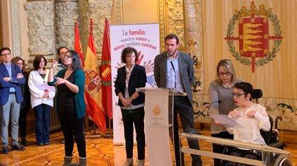 """Ayuntamiento de Valladolid homenajea la labor """"indispensable"""" de las familias en el Día Internacional de la Discapacidad"""