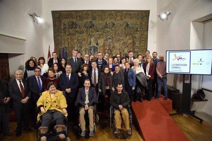 C-LM celebra el Día de la Discapacidad defendiendo la Constitución en favor de la igualdad