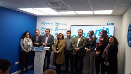 """González (PP) asegura que """"nadie debe temer al cambio"""" porque Moreno """"lo liderará"""" y """"aportará frescura"""""""