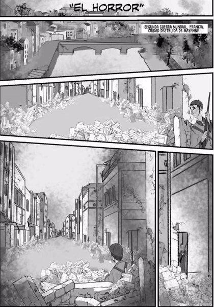 La obra madrileña 'El horror' y la cartagenera 'Valhalla', ganadoras del III Premio Cómic de la Diputación de Cáceres