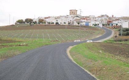 Finalizan las obras de reparación del camino provincial CP-266 'De El Carpio a El Trapero'