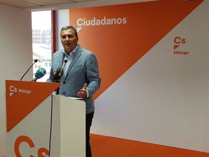 Cs gana en cuatro municipios malagueños y destaca el avance en la capital, donde es la segunda fuerza por delante del PP
