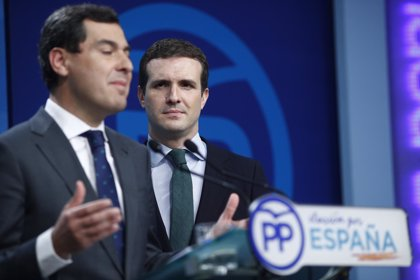 """Casado rechaza las advertencias del PSOE sobre Vox porque gobierna """"con la izquierda más radical en democracia"""""""