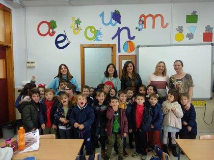 El colegio Cándido Nogales de Jaén celebra el Día de la Discapacidad con el programa Rompiendo Barreras