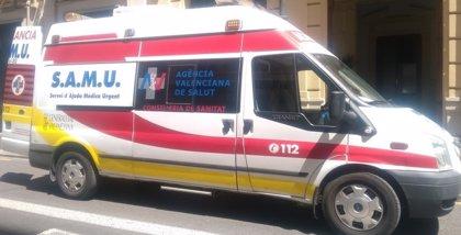 Cuatro heridos en un consultorio de Elche tras un incendio por un escape una mochila de oxígeno