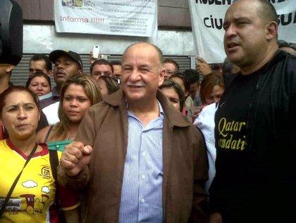 Detienen a un líder sindical opositor de Venezuela tras una protesta de trabajadores