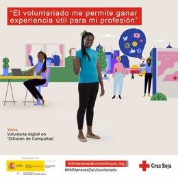 Campaña de Voluntariado de Cruz Roja