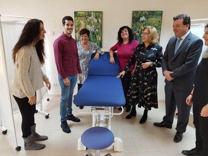 Zuera estrena consulta de fisioterapia con tres nuevos profesionales