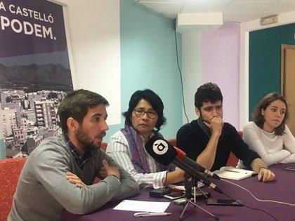 Podemos aspira a presentar candidatura en 20 municipios de la provincia de Castellón en las próximas elecciones