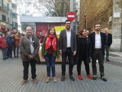 MÉS lanza la campaña 'Estimam Palma, una transformació en marxa' para elaborar su programa y difundir su gestión en Cort