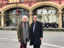 El director Guy Casssiers i l'actor Lluís Homar