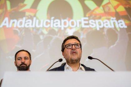 """VOX propone en su programa andaluz sustituir el PER, cerrar Canal Sur y suprimir la """"administración paralela"""""""