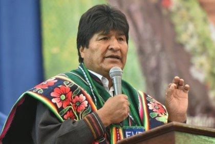 Evo Morales acusa a Estados Unidos de chantajear a Bolivia con el bloqueo de la financiación internacional