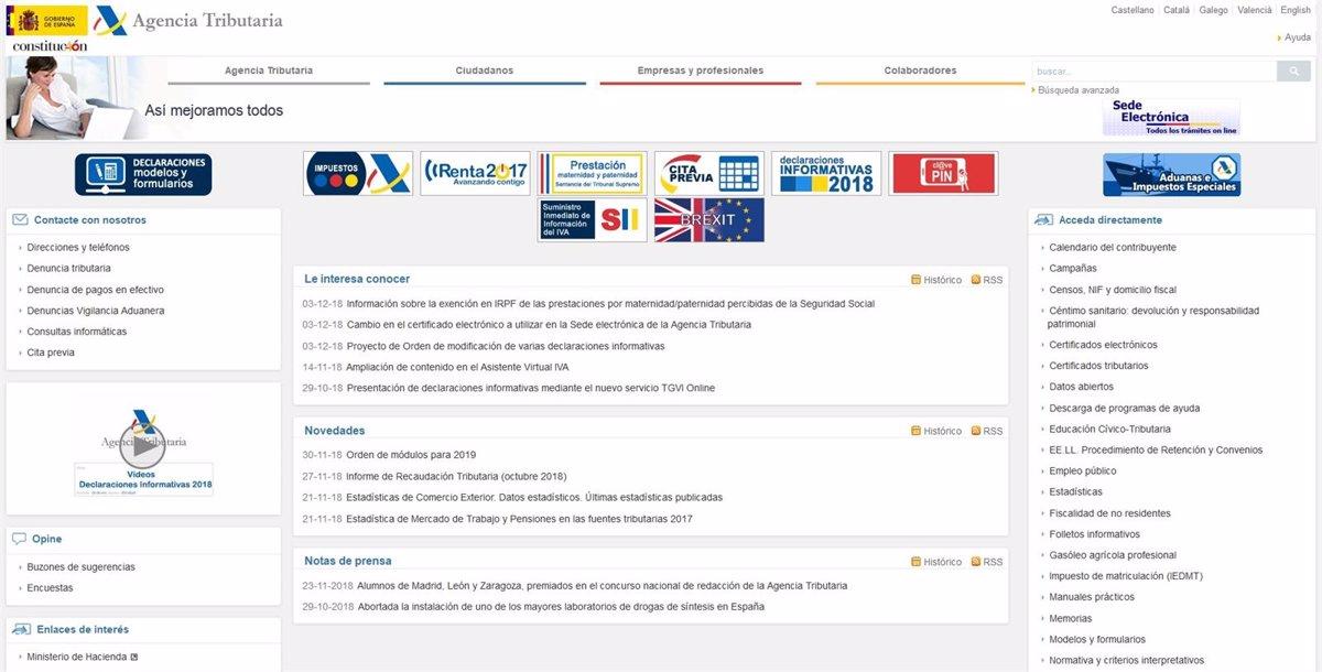 Agencia Tributaria Calendario 2020.Agencia Tributaria Calendario Fiscal 2020