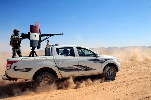 Fuerzas del Ejército sirio