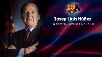 El FC Barcelona decreta cuatro días de duelo por Núñez en el Camp Nou