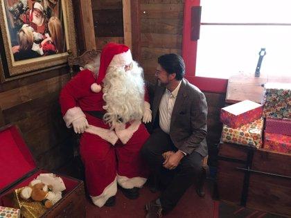 """Barcala sobre la Casita de Papá Noel: """"¿Quieres hacerte una foto con Papá Noel? Pues la pagas"""""""