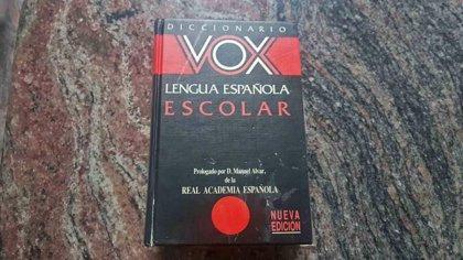 """Los editores de diccionarios Vox admiten que les """"toca las narices"""" que exista un partido con el mismo nombre"""