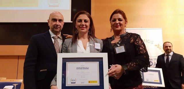 Granada, Premio de la Semana Española de la Movilidad Sostenible 2018