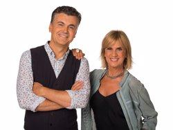 La periodista Gemma Nierga i el comunicador Ramon Gener