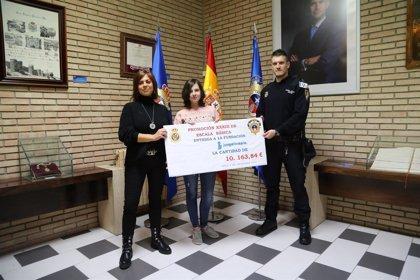 Alumnos de la Escuela de Policía en prácticas donan 10.000 euros a la Fundación Juegaterapia