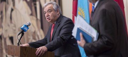 Guterres pide una respuesta más ambiciosa ante el cambio climático