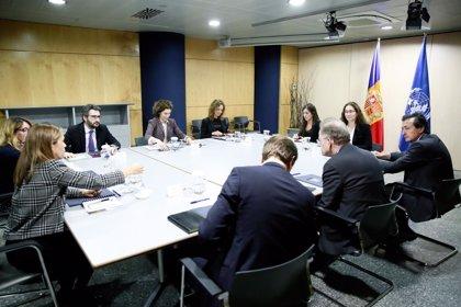 Möller (ONU) destaca el trabajo de Andorra para formar a profesores en desarrollo sostenible