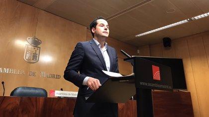 """Aguado no cree que Vox entre en Madrid y se alegra de que """"por fin"""" se desbanque al PSOE en Andalucía"""