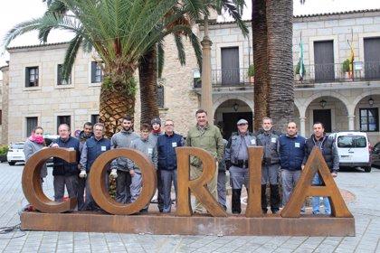 Coria estrena sus letras turísticas con el nombre de la ciudad