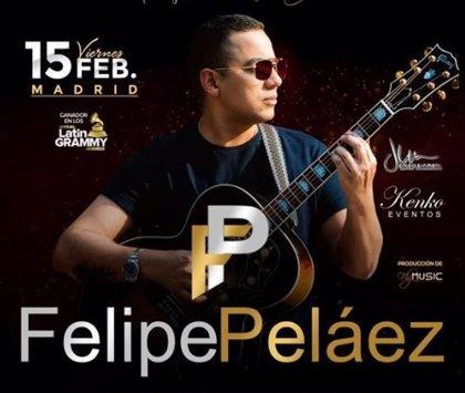 Felipe Peláez llegará a Europa con una gran gira en el mes de febrero