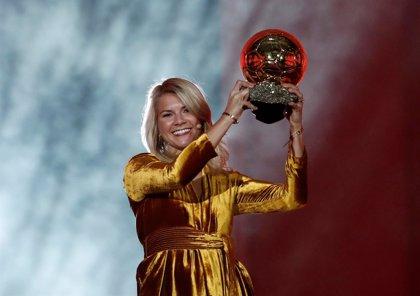 La noruega Ada Hegerberg conquista el primer Balón de Oro femenino