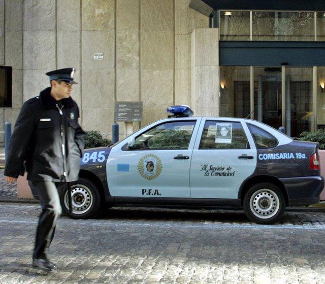 Coche de policía de Argentina