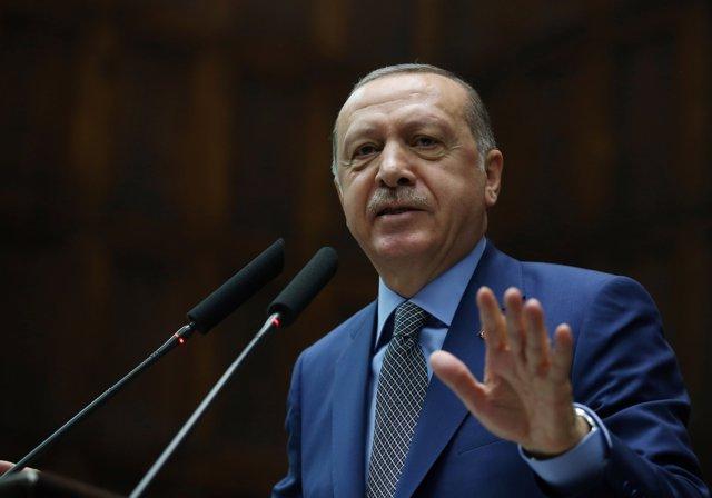 El presidente de la República de Turquía, Recep Tayyip Erdogan
